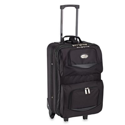 Geoffrey Beene Overland Travelware 20-Inch Rolling Expandable Carry On Suitcase