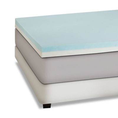 Independent Sleep 4-Inch Memory Foam /High Density Foam with Gel Combination King Mattress Topper