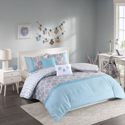 Blue Queen Duvet Sets