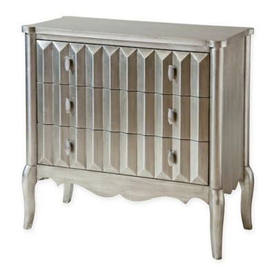 Sunderland Accent Chest in Silver