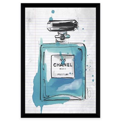 BY Jodi Chanel at School Blue Framed Wall Art