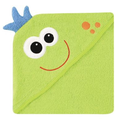 Baby Vision® Luvable Friends® Monster Embroidery Hooded Towel
