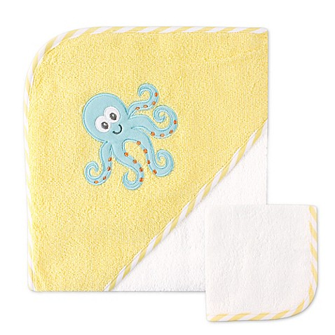 Babyvision 174 Luvable Friends 174 Octopus Hooded Towel And