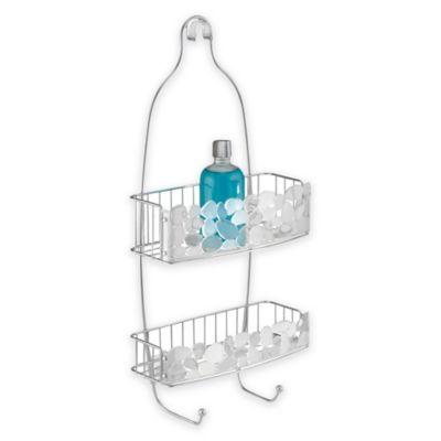 InterDesign® Pebblz Shower Caddy in Silver