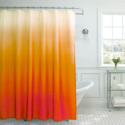 Buy Blue Orange Curtains From Bed Bath Amp Beyond