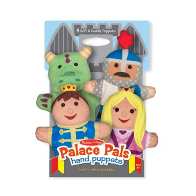 Melissa and Doug® Palace Pals Hand Puppets (Set of 4)