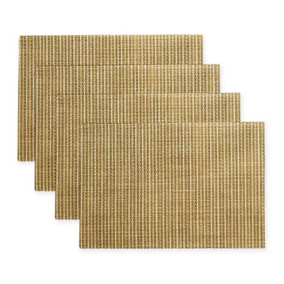 Kraftware™ Woven Placemats in Tan (Set of 12)