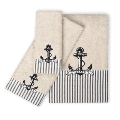 Anchor Beach Towels