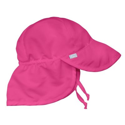 i play.® Infant Sun Flap Hat in Hot Pink