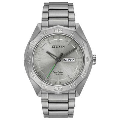 Citizen Eco-Drive Men's 44mm Super Titanium Sport Watch in Titanium