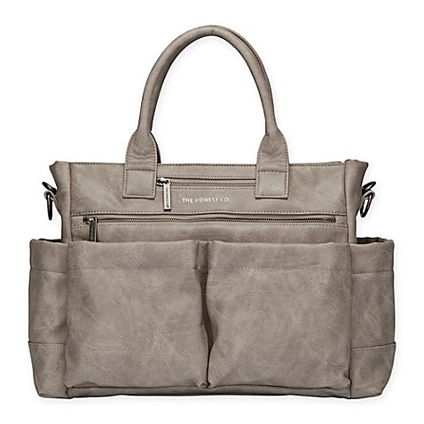 honest everything diaper bag tote in slate grey buybuy baby. Black Bedroom Furniture Sets. Home Design Ideas