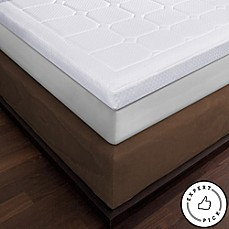 Therapedic 174 Luxury Quilted Deluxe 3 Inch Memory Foam Bed