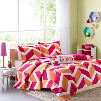 Mi Zone Billie Twin/Twin XL 3-Piece Comforter Set in Pink