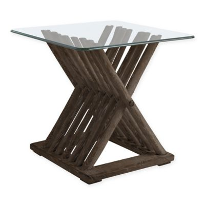 Stanley Furniture Driftwood Flats End Table in Channel Marker