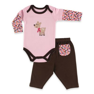BabyVision® Hudson Baby Size 9-12M 2-Piece Long Sleeve Bodysuit and Pant Set