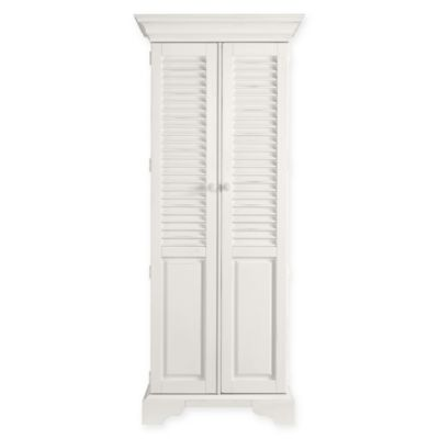 Stanley Furniture Summerhouse Utility Cabinet in Saltbox White