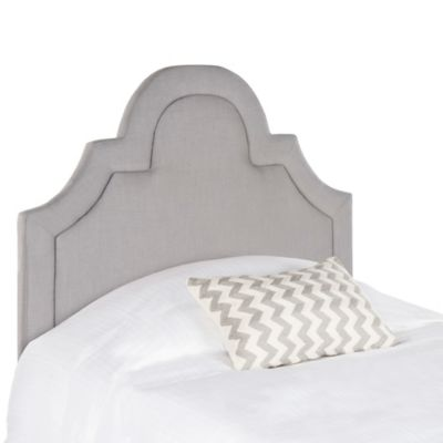 Safavieh Kerstin Arched Twin Headboard in Arctic Grey