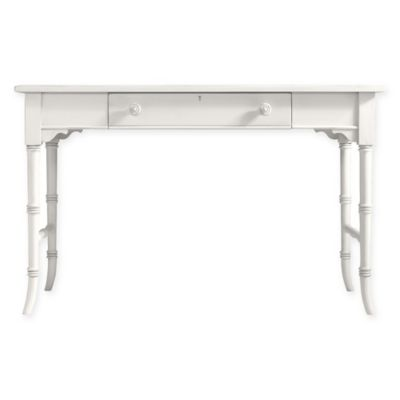Stanley Furniture Desk Table in Saltbox White