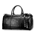 Ellington Domani Collection Leather Duffel Bag