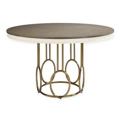 Stanley Furniture™ Venice Beach Wood/Metal 56-Inch Round Dining Table in White