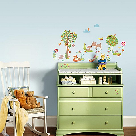Buy Woodland Creatures Peel And Stick Wall Decals From Bed