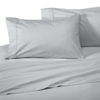 Wamsutta® Supima® Supreme Luxury Open Stock Queen Flat Sheet in Silver