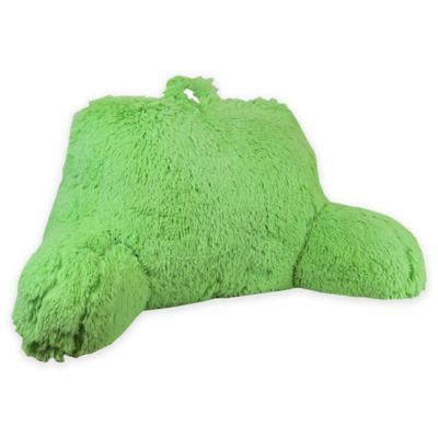 Klear Vu Shaggy Backrest in Green