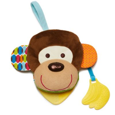 SKIP*HOP® Monkey Bandana Buddies Puppet Book