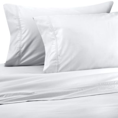 Wamsutta® Wrinkle-Free Pima Sateen Open Stock King Flat Sheet in White