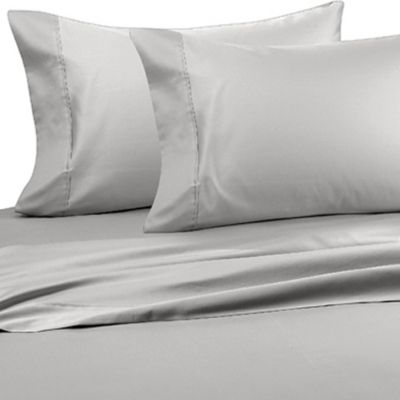 Wamsutta® Wrinkle-Free Pima Sateen Open Stock Standard Pillowcases in Beige (Set of 2)