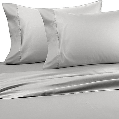 Wamsutta® Wrinkle-Free Pima Sateen Open Stock Twin Flat Sheet in Beige