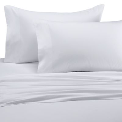 Wamsutta® Perfect Pinpoint Open Stock Standard Pillowcases in White (Set of 2)