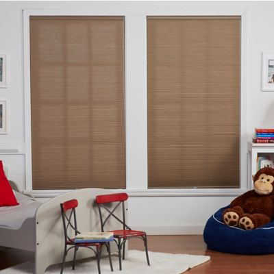 Baby Blinds Cordless Cellular Light Filtering 20-1/2-Inch x 48-Inch Shade in Oat