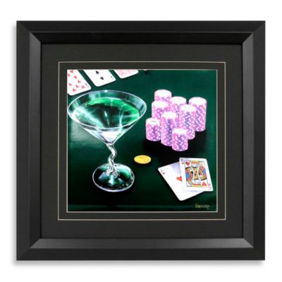 """Poker Chips"" Wall Art"