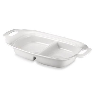 Lenox® Aspen Ridge 16 1/4-Inch Divided Serving Tray