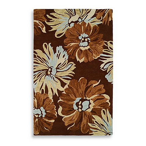 Inspiration 8' x 11' Brown Room Size Rug