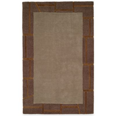 Harounian Cambridge 5-Foot x 8-Foot Room Size Rug in Grey