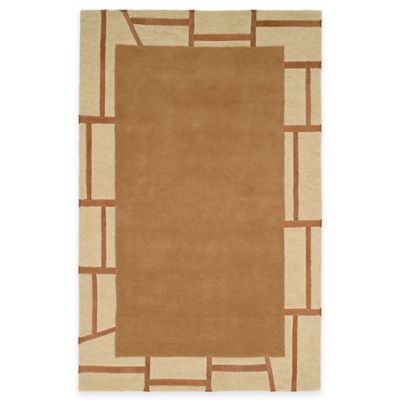 Harounian Cambridge 5-Foot x 8-Foot Room Size Rug in Beige