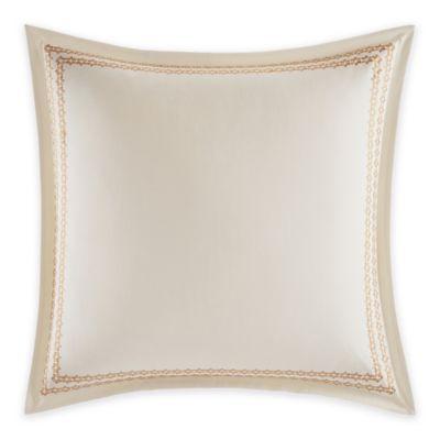Laura Ashley® Almeida European Pillow Sham in Ivory