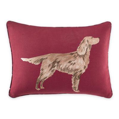 Laura Ashley® Ella Breakfast Throw Pillow in Cranberry