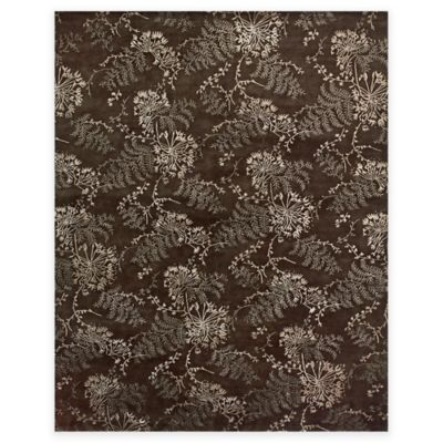 Feizy Dayuan 5-Foot 6-Inch x 8-Foot 6-Inch Area Rug in Brown