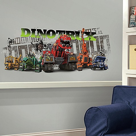 Dinotrux Peel And Stick Giant Wall Decal Www