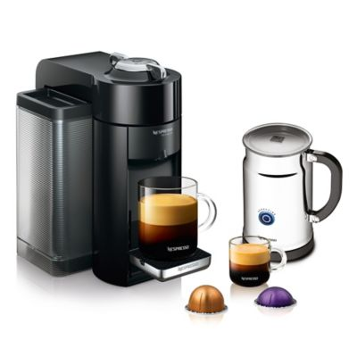 Buy Nespresso VertuoLine Evoluo Coffee/Espresso Maker in Black with Aeroccino Plus Frother from ...