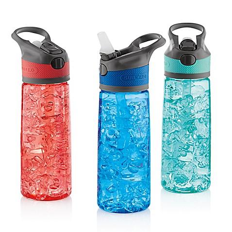 Subzero 174 Tritan 3 Pack 24 Oz Water Bottles With Auto
