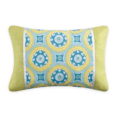 Blue/Yellow Throw Pillows