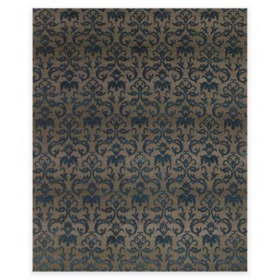 Feizy Kooshlame 5-Foot 6-Inch x 8-Foot 6-Inch Area Rug in Grey/Teal