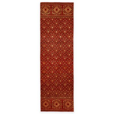 Feizy Anchala 2-Foot 6-Inch x 8-Foot Runner in Red