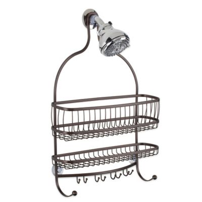 Buy Interdesign York Tension Corner Shower Caddy In