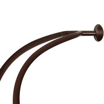 Bath Double Shower Rod