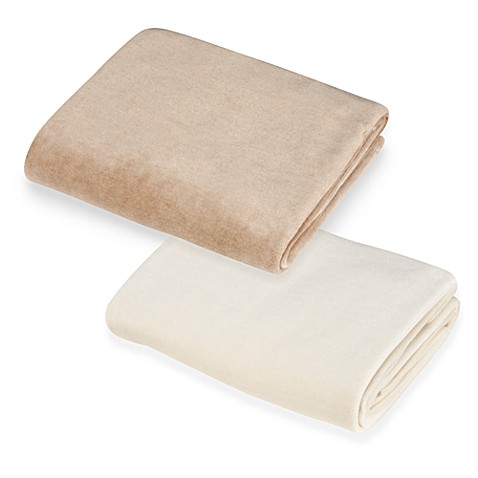 Natural 100% Organic Cotton Velour Crib Sheet